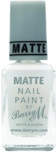 Barry M. Nail Paint Matte Topcoat 10 ml