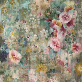 Flower Shower Fototapeter & Tapeter 100 x 100 cm