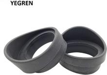 Rubber Eyepiece Eye Cups One Pair Eye Guards Inner Diameter 34 mm for Microscope Binoculars Telescopes Not Foldable Eyecups