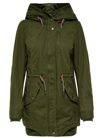 ONLY Seasonal Parka Coat Women Green
