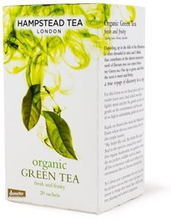 Hampstead Tea Organic Ginger Green 20 Beutel
