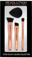Revolution Makeup C301 Ultra Sculpt & Blend Collection 4 kpl