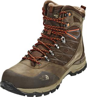 The North Face M's Hedgehog Trek GTX Boots Demitasse Brown/Tibetan Orange US 12 | 45,5 2019 Fjellstøvler