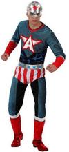 Kostume til voksne Th3 Party Superhelt