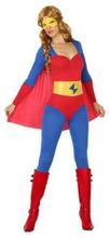 Kostume til voksne Superheltinde