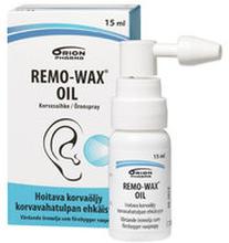 Remo-Wax Oil korvasuihke 15 ml *