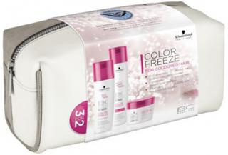Schwarzkopf Bonacure Color Freeze Set With Bag 250 ml + 200 ml + 200 ml + 1 stk