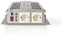 Nedis Strömväxelriktare, modifierad sinusvåg   24 V DC - 230 V AC   1700 W   2x Schuko-uttag