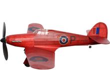 Hawker Hurricane koottava kuminauhalennokki