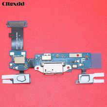 cltgxdd For Samsung Galaxy S5 G900F USB Charging Port flex cable Home Connector & Sensor Key