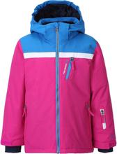 Tenson Fawn Kids Ski Jacket Barn skijakker fôrede Rosa 122