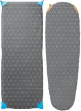 Therm-a-Rest Synergy Sheets Regular Grey 2017 Överdrag till liggunderlag & Kuddfodral