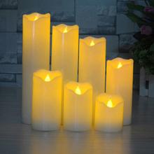 LED-Ljus med fladdrande låga 5,3x10cm