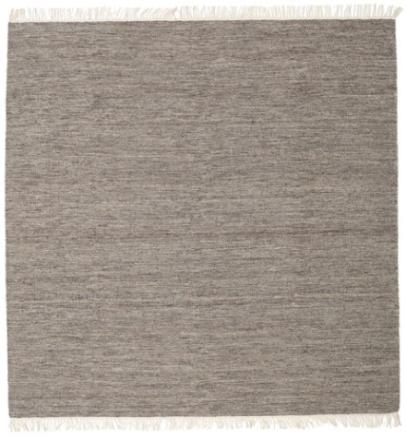 Melerad - Brun matta 300x300 Orientalisk, Kvadratisk Matta