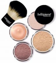 Bellápierre Cosmetics Glowing Complexion Essentials Kit Medium 5 kpl