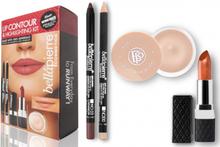 Bellápierre Cosmetics Lip Contour & Highlighting Kit Fierce 4 kpl
