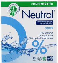 Neutral Koncentreret Vaskepulver Hvid 675 g