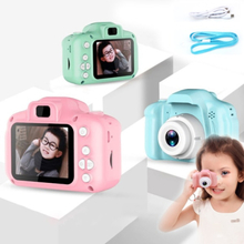 13/8mega Pixels Mini Camera Kids Digital Camera 1080p Projectio Green Common