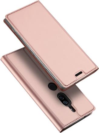 DUX DUCIS Sony Xperia XZ2 Premium beskyttelses deksel av syntetisk skinn - rose gull