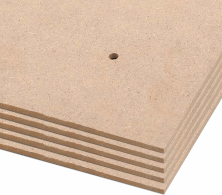 vidaXL Affischtavlor 10 st strl DIN A1 HDF 860x620x3 mm