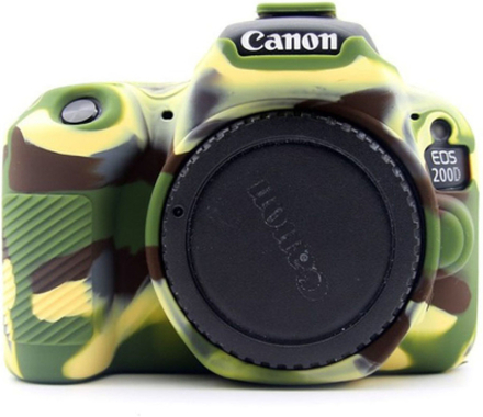 Canon EOS 200D kameraskydd silikonmaterial stötdämpande - Kamoflage