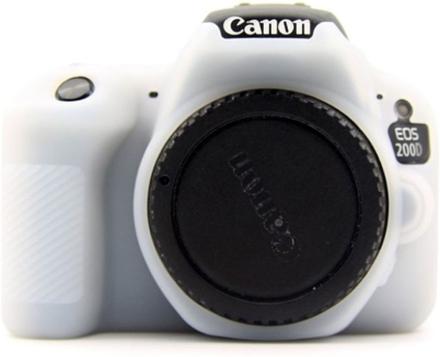 Canon EOS 200D kameraskydd silikonmaterial stötdämpande - Vit