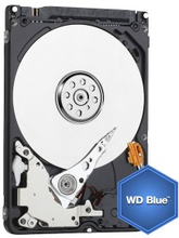 "WD Blue Intern harddisk 2,5"" 500 GB"