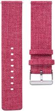 Suunto 3 Fitness klokkereim av nylon stoff - rød