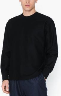 Topman Black Twill Sweatshirt Trøjer Black