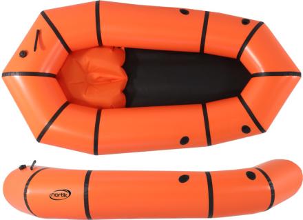 nortik Light-Raft vene , oranssi 2018 Kumiveneet