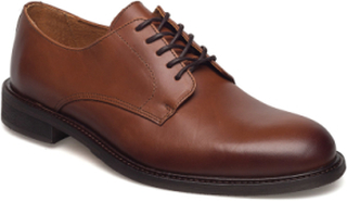 Slhbaxter Derby Leather Shoe B Noos