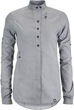 Klättermusen Lofn Shirt Dam grey melange 2018 XS Långärmade skjortor