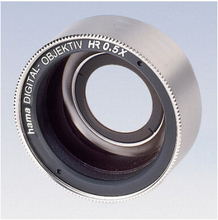 Vidvinkeltillsats 0\,5x Digital 37 mm