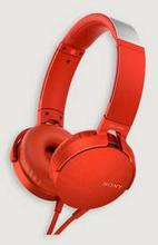 Sony Headset MDR-XB550AP Rød