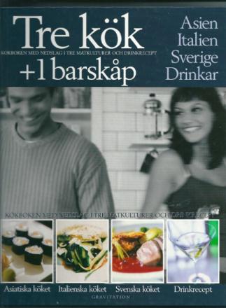 TRE KÖK + 1 BARSKÅP
