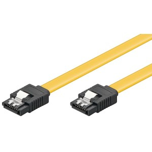 SATA 6 Gb/s-kabel med lås 0,2 m