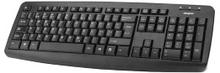 Plexgear S-109 Trådbundet tangentbord Svart