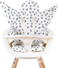 CHILDHOME Universell sittdyna ängel bomull jersey leopard