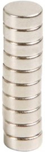 Neodym-magneter 8 mm 10-pk.