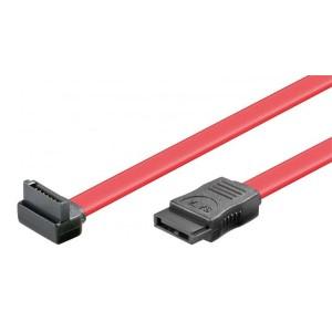 Vinklet Sata 3 Gb/s-kabel 0,5 m