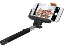 Linocell Selfie-stick med Bluetooth-avtryckare