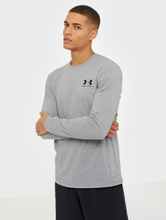 Under Armour Sportstyle Left Chest Ls Puserot Steel