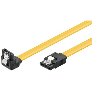 Vinklet Sata 6 Gb/s-kabel med lås
