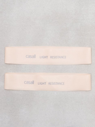 Treningsredskap - Light Pink Casall Rubber band light 2pcs