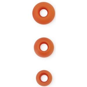 Ekstra øreplugger 3 par Oransje