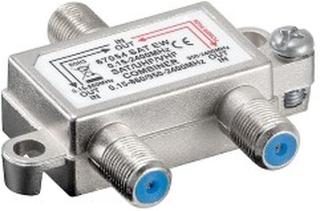 Combiner för TV-antenn och parabol