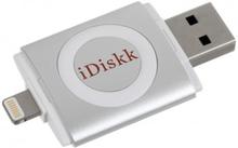 iDiskk USB 3.0-minne med Lightning och USB Typ A, 16GB, exFAT, MFi