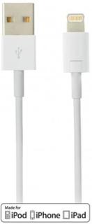 DELTACO USB-synk-/laddarkabel till iPad, iPhone och iPod MFi