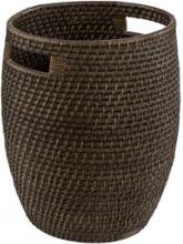 AMAZON Round Basket - Deep brown
