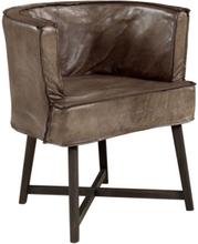 MONIQUE Arm-/Diningchair -Leather lampré
